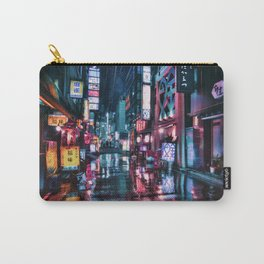 Tokyo at Night Carry-All Pouch
