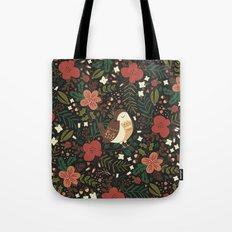 Christmas Robin Tote Bag