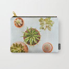 Simple Succulents (Color) Carry-All Pouch