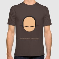 FC - Dali Brown Mens Fitted Tee LARGE