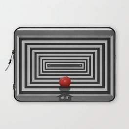 Do it if you want it Laptop Sleeve