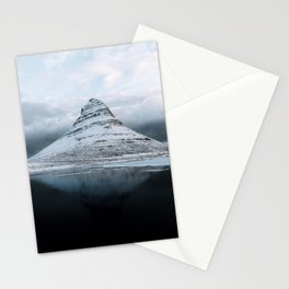 Kirkjufell Mountain in Iceland - Landscape Photography Stationery Cards