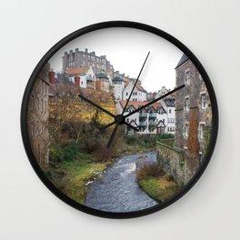 Water of Leith Edinburgh 3 Wall Clock
