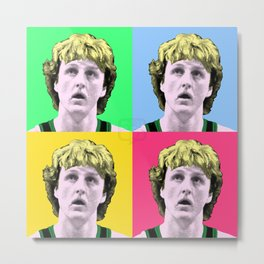 Larry Warhol Metal Print
