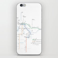 Twin Cities METRO System Map iPhone & iPod Skin