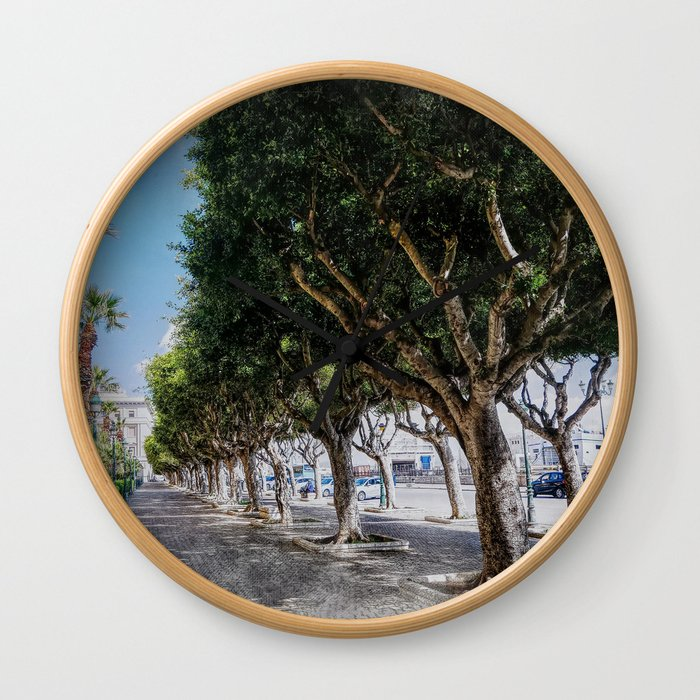 Trapani art 10 Wall Clock