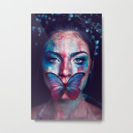 Conceptual Metal Print