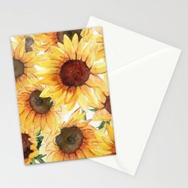 Sunflowers Bloom  Stationery Cards