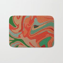Abstract Colorful Pattern Bath Mat
