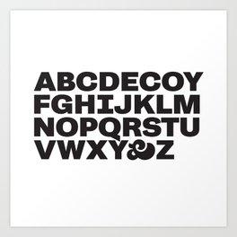 Decoy  Art Print