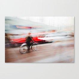 - Liquida morte - Canvas Print