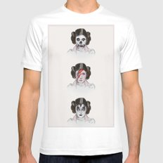 Carrie SMALL White Mens Fitted Tee