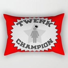 Twerk Champion Rectangular Pillow
