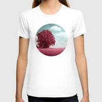 moulin rouge T-shirts featuring ARBRE ROUGE by VIAINA