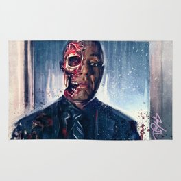 Face-Off (breaking bad) Rug