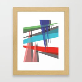Ambient 19 on white Framed Art Print