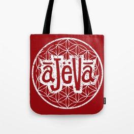 Ajeva Logo Red Tote Bag
