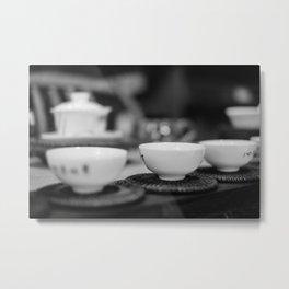 Chinese Tea Metal Print