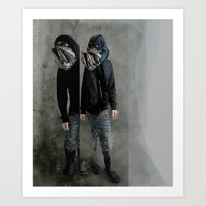 String Theory: Collapsing Wavefunction, Fifth Tangible Art Print