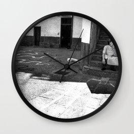On a break Wall Clock