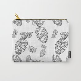 Hops pattern with leafs Carry-All Pouch