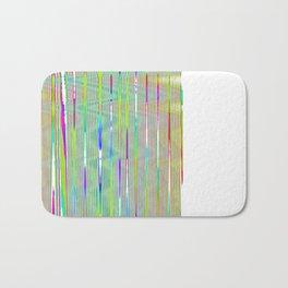 rainbow static Bath Mat