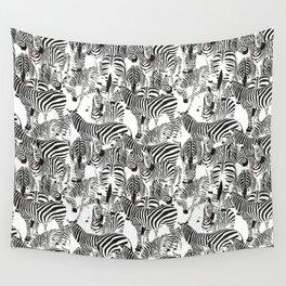 ZEBRI ZEBRA / pattern pattern Wall Tapestry