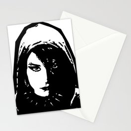 Lisbeth Salander - The Girl with the Dragon Tattoo Stationery Cards