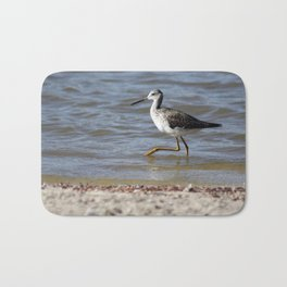 Sandpiper on the Beach Bath Mat