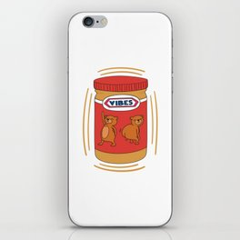 Peanut Butter Vibes - Crunchy iPhone Skin