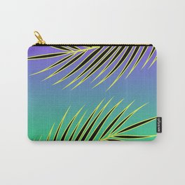 PALM PURPLE/GREEN Carry-All Pouch