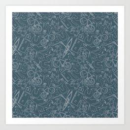 Acadia Pattern 5 Art Print