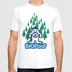 Big Foot MEDIUM Mens Fitted Tee White
