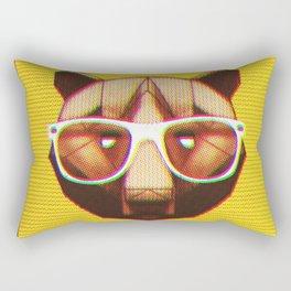 3D GEEKY GRIZZLY BEAR Rectangular Pillow