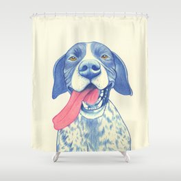 Pointer dog - Jola 01 Shower Curtain