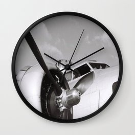 Flying Back in Time Wall Clock