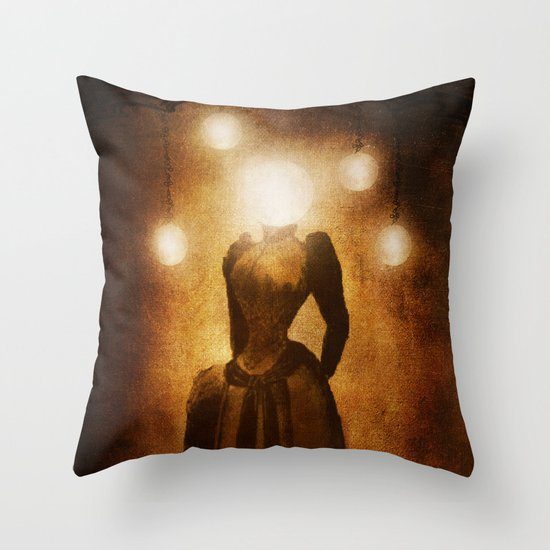 Lady of the Light Throw Pillow