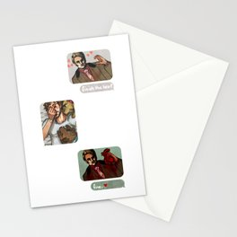 Hannibal: Finish the heart Stationery Cards