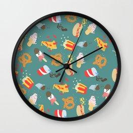 Movie Munchies Wall Clock