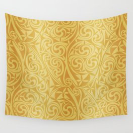 Celtic Warlord gold Wall Tapestry