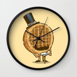 The Fancy Waffle Wall Clock