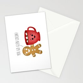 You Go Glen Cocoa! Stationery Cards