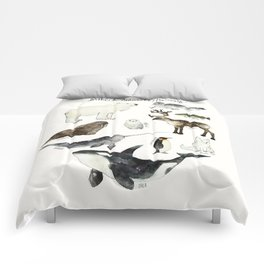 Arctic & Antarctic Animals Comforters