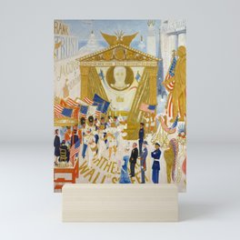The Cathedrals of Wall Street, 1939 by Florine Stettheimer Mini Art Print