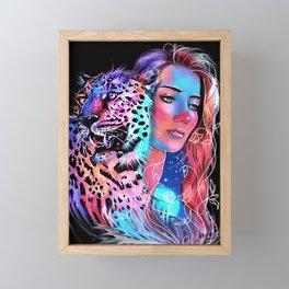 Ferocity and Valor Framed Mini Art Print
