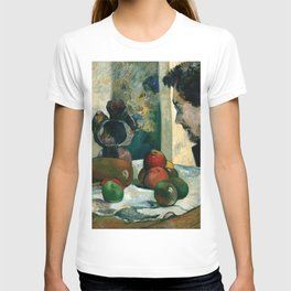 1886 - Gauguin - Still Life with Profile of Laval T-shirt