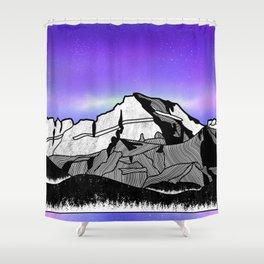 Mount Gould Montana Shower Curtain