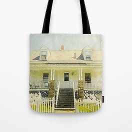 Pemaquid Point Lightkeepers House, Maine Tote Bag