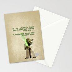 Yoda Squasher  Stationery Cards