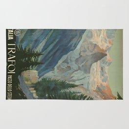 Vintage poster - Trafoi Rug